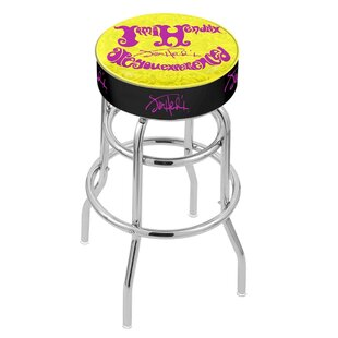 Jimi Hendrix 25 Swivel Bar Stool