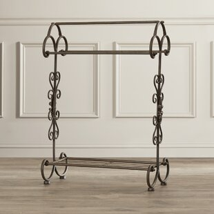 Metal Blanket Racks You'll Love | Wayfair : metal quilt rack - Adamdwight.com