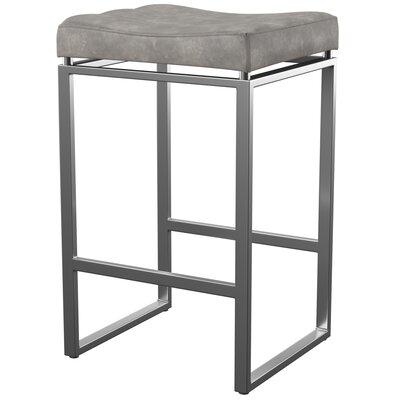Mercury Row Westbrooks 27 Bar Stool Upholstery: Retro Taupe