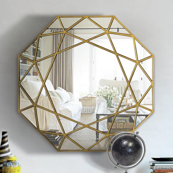 Desdemona accent wall mirror