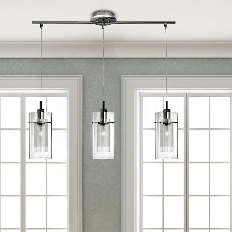 Wade logan carl 3 light kitchen island pendant reviews wayfair carl 3 light kitchen island pendant aloadofball Choice Image