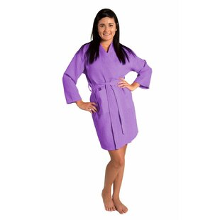 Antwan Kimono Cotton Blend Waffle Bathrobe 0a95f8452