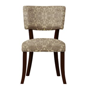 Petra Brown Fabric Side Chair (Set of 2) ..
