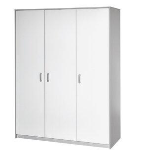 Classic Grey 3 Door Wardrobe by Schardt