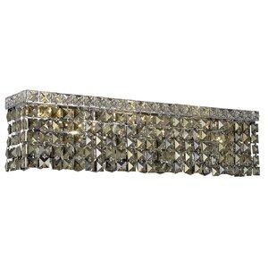 Bratton 4-Light Chrome Wall Sconce