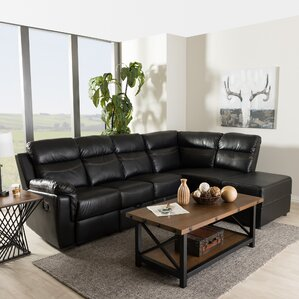 Beatrice Reclining Sectional by Wholesale Interiors