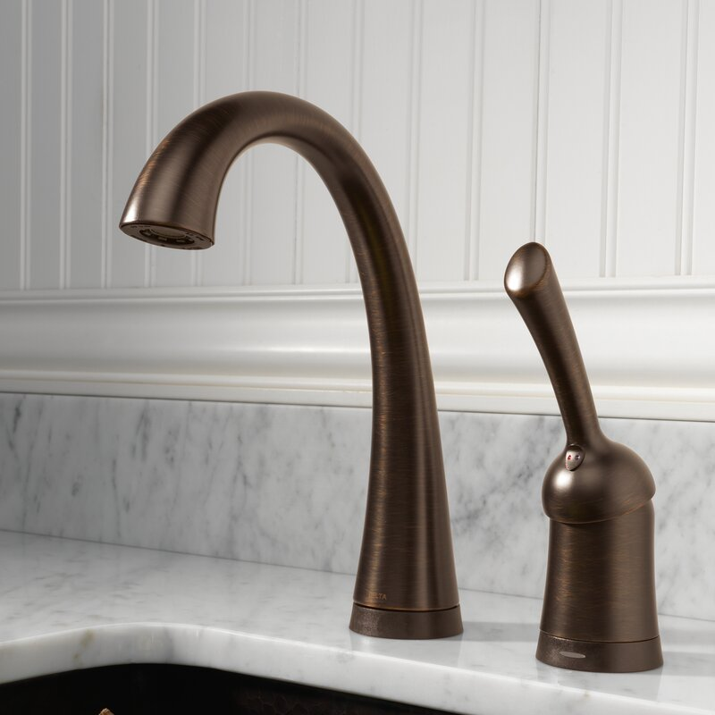 Delta Pilar Touchless Single Handle Bar Faucet with Touch2O ...