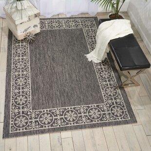 Cochrane Charcoal Indoor/Outdoor Area Rug