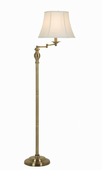 60 swing arm floor lamp