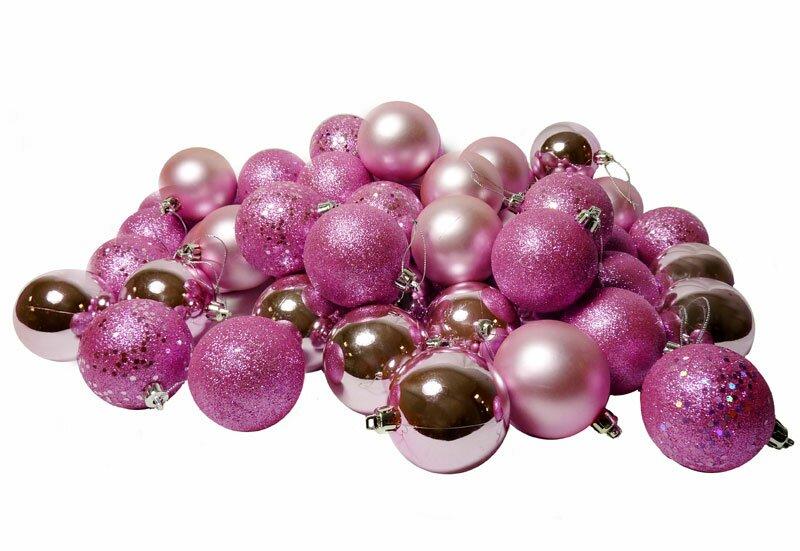 96 Piece Shatterproof Christmas Ball Ornament Set - 96 Piece Shatterproof Christmas Ball Ornament Set & Reviews Joss
