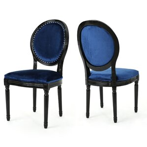 Chambray Upholstered Dining Chair (Set of..