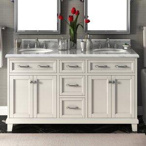 Carolina 60″ Double Bathroom Vanity Set