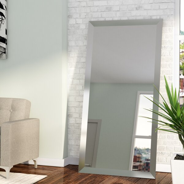 Rectangle Nickel Wall Mirror Amp Reviews Allmodern