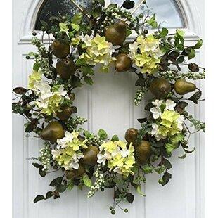 Silk Door Wreath