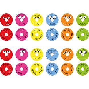 Emotions Donut Kids Floor Cushion