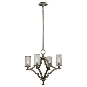 Simone 4-Light Candle-Style Chandelier