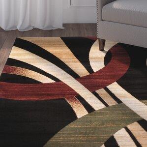 beachmount black area rug