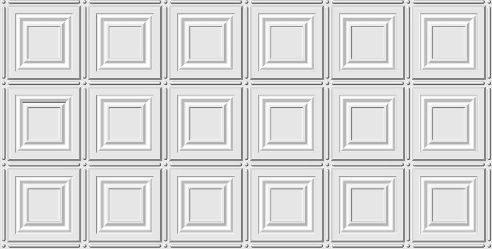 Global specialty products square 2 ft x 4 ft glue up ceiling tile glue up ceiling tile in white dailygadgetfo Choice Image
