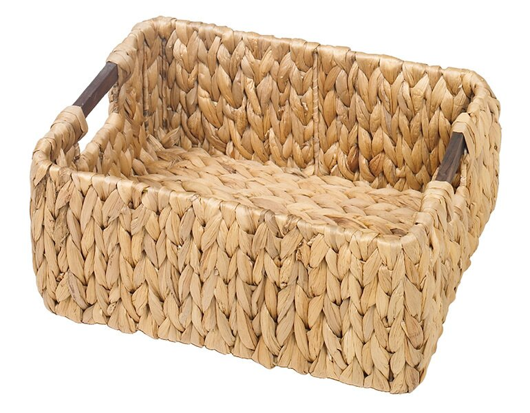 bay isle home korb chadbourne aus wasserhyazinthe. Black Bedroom Furniture Sets. Home Design Ideas
