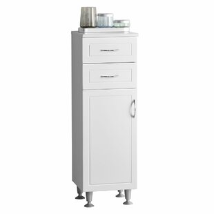 Aspo 33 x 102cm Free Standing Tall Bathroom Cabinet by Castleton Home