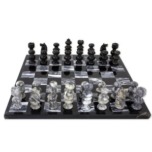 Hand Crafted Marble Chess Game Set