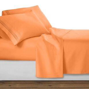 peach colored sheets wayfair