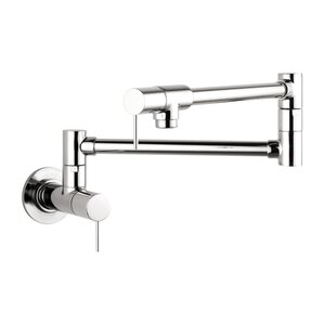Axor Axor Starck Double Handle Wall Mounted Pot Filler Faucet