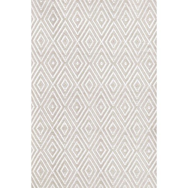 Best White And Gray Diamond Rug | Wayfair VB16