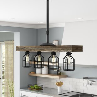 Varley 4 Light Kitchen Island Pendant