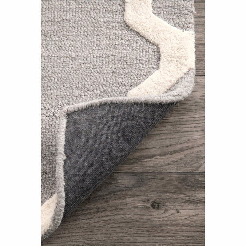 Wrought Studio Tadlock Hand-Woven Gray Area Rug & Reviews