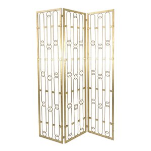 Mahesh 72 X 18 5 Metal 3 Panel Room Divider