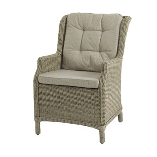 Rysing High Back Garden Chair with Cushion by Lynton Garden