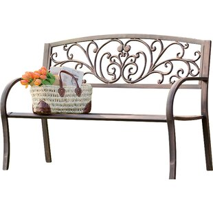 Deal 2019 Blooming Iron Garden Bench Plow & Hearth