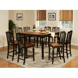 Ashworth 9 Piece Counter Height Pub Table Set by..
