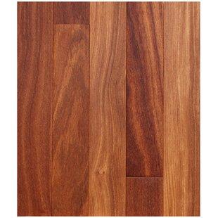 3 1 4 Solid Brazilian Teak Hardwood Flooring In Natural