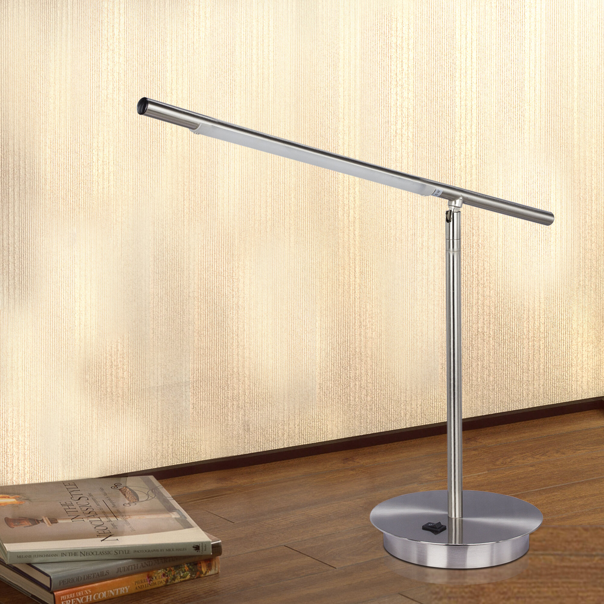 fangio adjustable led 24 5 desk lamp wayfair