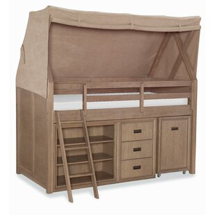 Hudson Mid Loft Twin Bed  sc 1 st  Wayfair & Canopy Kidsu0027 Beds Youu0027ll Love | Wayfair