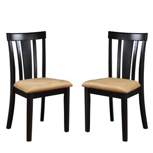 Oneill Slat Back Side Chair (Set of 2) by Andover Mills