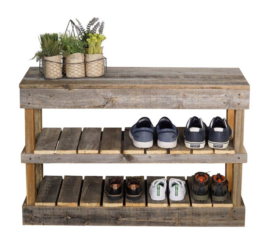 Captivating Coley 8 Pair Shoe Storage Rack