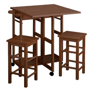 Fanny 3 Piece Dining Set by Andover Mills