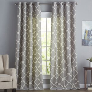 Gray And Silver Curtains Drapes Youll Love Wayfair