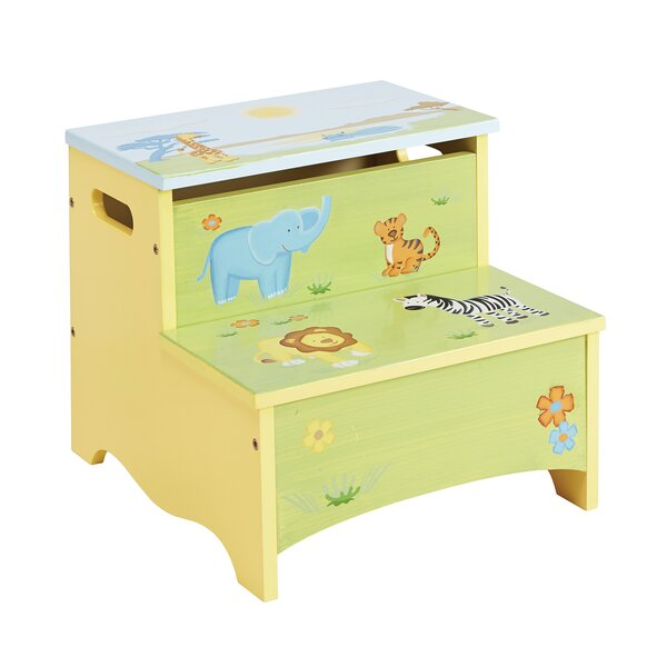 Savanna Smiles Kids Step Stool with Storage  sc 1 st  Wayfair & Kidsu0027 Step Stools islam-shia.org