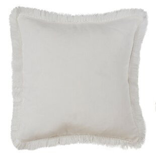 Fringe White Throw Pillows You Ll Love Wayfair