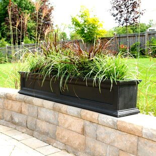 Extra large rectangular planters youll love fairfield self watering plastic window box planter workwithnaturefo
