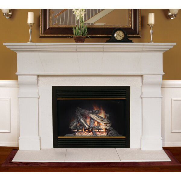 Americast Architectural Stone Roosevelt Fireplace Mantel