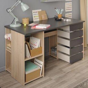 Desk And Vanity Combo. Self Craft Table Vanity Desk Combo  Wayfair