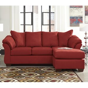 Huntsville Reversible Sectional : red sofa sectional - Sectionals, Sofas & Couches