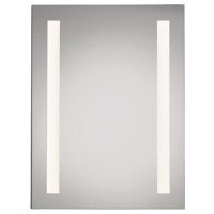 Illume Led Backlit 24 X 36 Recessed Medicine Cabinet With Lighting