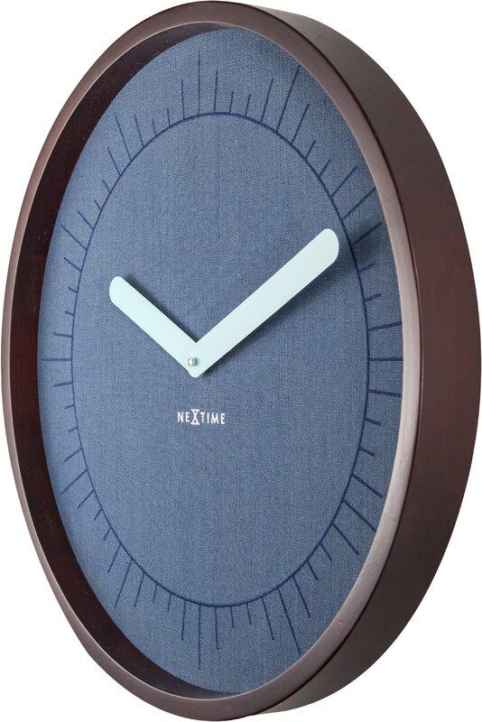 nextime analoge wanduhr calmest 50 cm bewertungen. Black Bedroom Furniture Sets. Home Design Ideas