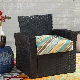 Allegra Stripe Deep Seating Indoor/Outdoor Seat Cushion